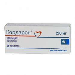 Кордарон 200мг 30 шт. таблетки