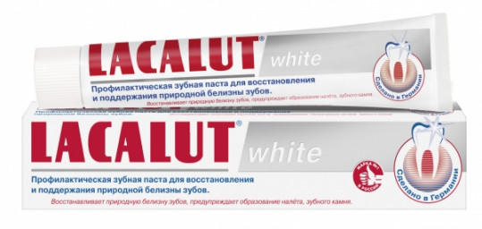Лакалют вайт зубная паста 75мл, фото №1