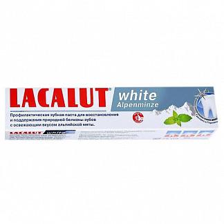Лакалют вайт зубная паста альпийская мята 75мл