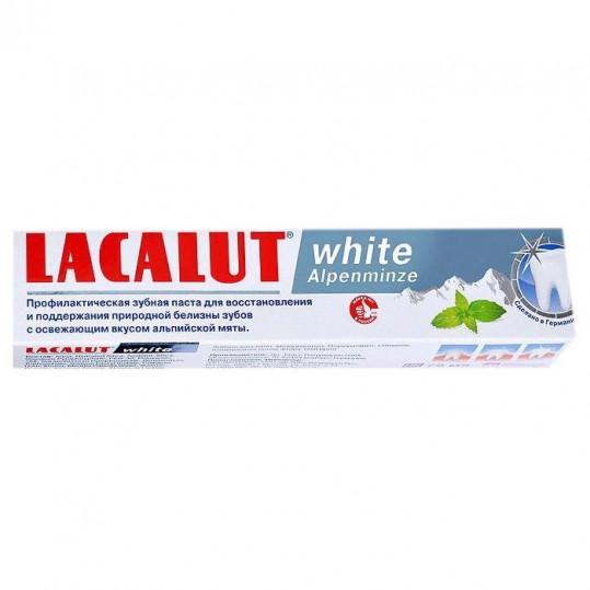 Лакалют вайт зубная паста альпийская мята 75мл, фото №1