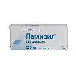 Ламизил 250мг 14 шт. таблетки
