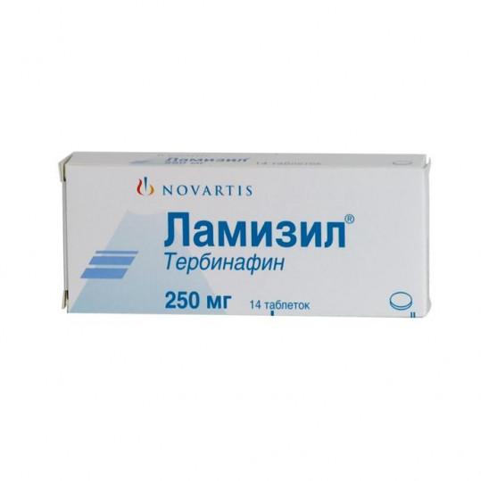Ламизил 250мг 14 шт. таблетки, фото №1