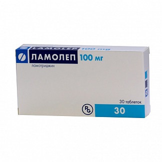 Ламолеп 100мг 30 шт. таблетки