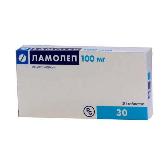 Ламолеп 100мг 30 шт. таблетки, фото №1