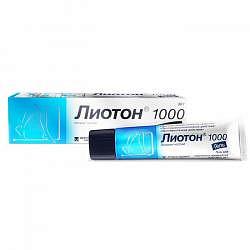 Лиотон 1000 30г гель a.menarini manufacturing logistics