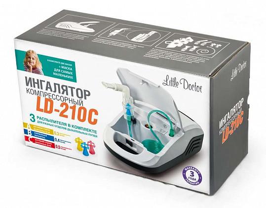 Литтл доктор ингалятор компрессорный арт.ld-210с, фото №2