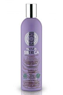 Натура сиберика шампунь д/сухих волос защита и питание 400мл