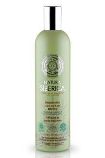 Натура сиберика шампунь д/сухих волос объем и увлажнение 400мл