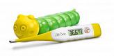 Литтл доктор термометр цифровой арт.ld-302 с гибким наконечником желтый