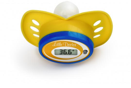 Литтл доктор термометр цифровой арт.ld-303 соска, фото №1