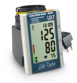 Литтл доктор тонометр автоматический арт.ld-7 с адаптером/увеличенной манжетой