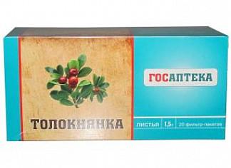 Толокнянка листья 1,5г 20 шт. фильтр-пакет