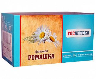 Ромашки цветки 1,5г 20 шт. фильтр-пакет