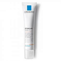 Ля рош позе эфаклар дуо+ крем-гель корректирующий для проблемной кожи с тонирующим эффектом светлый 40мл