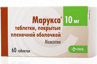 Марукса 10мг 60 шт. таблетки покрытые пленочной оболочкой