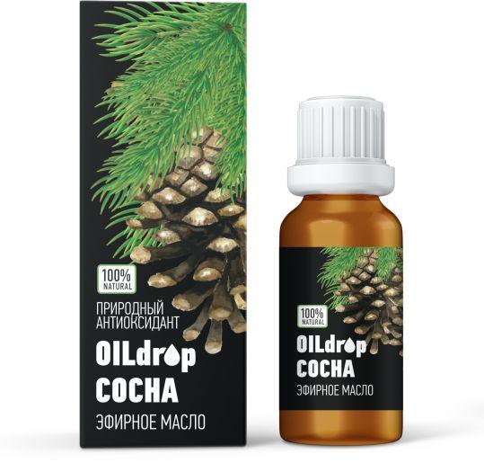 Оилдроп масло эфирное сосна 10мл, фото №1