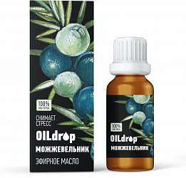 Оилдроп масло эфирное можжевельник 10мл