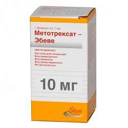 Метотрексат-эбеве 10мг/мл 1мл 1 шт. раствор для инъекций