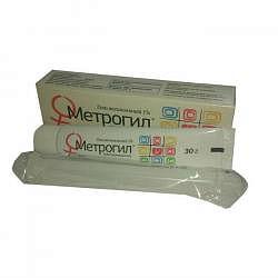 Метрогил 30г гель вагинальный с аппликатором