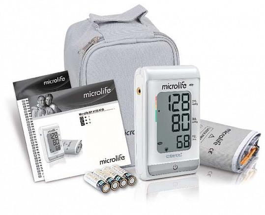 Микролайф тонометр автоматический вр а150 afib с функцией выявления риска инсульта с адаптером и манжетой размер m-l (22-42см), фото №2