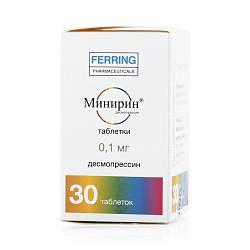 Минирин 0,1мг 30 шт. таблетки