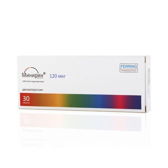 Минирин 60мкг 30 шт. таблетки подъязычные, фото №1