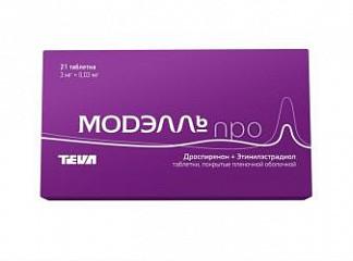Модэлль про 21 шт. таблетки покрытые пленочной оболочкой
