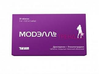 Модэлль тренд 28 шт. таблетки покрытые пленочной оболочкой