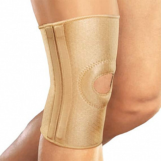 Орлетт бандаж на коленный сустав эластичный rkn-103(m) р.xl