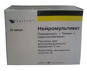 Нейромультивит препарат