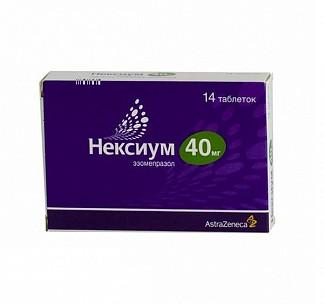 Нексиум 40мг 14 шт. таблетки покрытые оболочкой