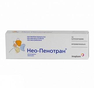 Нео-пенотран n14 суппозитории вагинальные