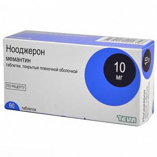 Нооджерон 10мг 60 шт. таблетки покрытые пленочной оболочкой