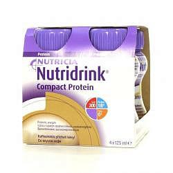 Нутридринк компакт протеин смесь кофе 125мл 4 шт.