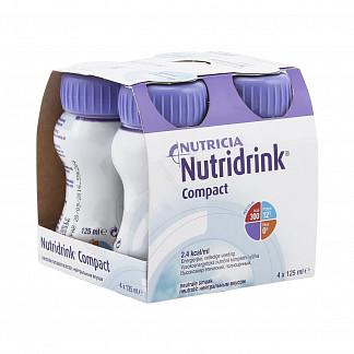 Нутридринк компакт протеин смесь нейтральный 125мл n4
