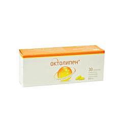 Октолипен 600мг 30 шт. таблетки покрытые пленочной оболочкой