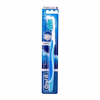 Орал-би 3d вайт зубная щетка адвантаж 40 средняя