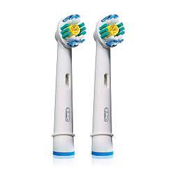 Орал-би насадки для электрической зубной щетки 3d вайт eb-18 2 шт.