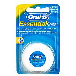Орал-би зубная нить невощеная эссеншл 50м
