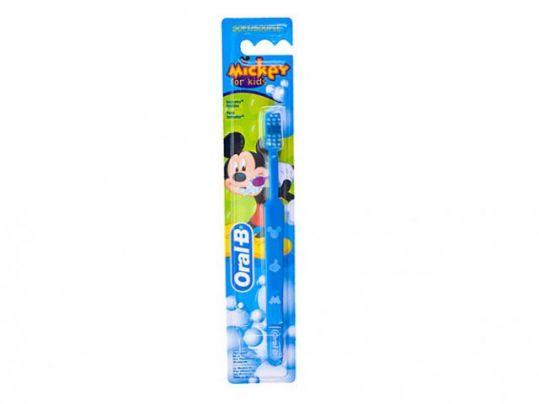 Орал-би зубная щетка детская mickey for kids мягкая, фото №1