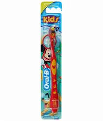 Орал-би зубная щетка детская kids мягкая