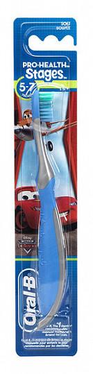 Орал-би зубная щетка детская stages 3 5-7лет мягкая, фото №3