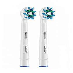 Орал-би кросс экшн насадки для электрической зубной щетки e850-2 2 шт.