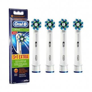ОРАЛ-БИ насадки д/электрических зубных щеток КроссЭкшн N4