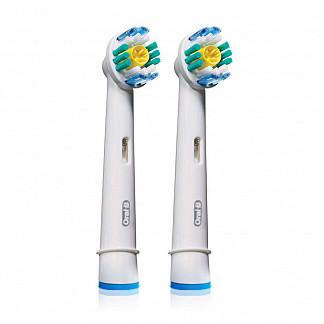 Орал-би про вайт насадки для электрической зубной щетки 2 шт.