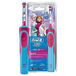 Орал-би стейджес пауэр зубная щетка электрическая детская холодное сердце d12.513