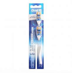 Орал-би эксперт пауэр насадки для электрической зубной щетки 2 шт.