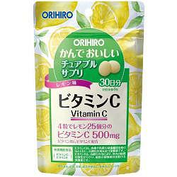 Орихиро витамин с со вкусом лимона таблетки 120 шт.