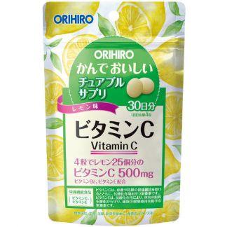 Орихиро витамин с со вкусом лимона таб. n120
