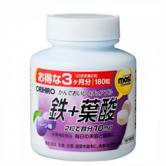 Орихиро витамин а с черникой  таб. n180, фото №1